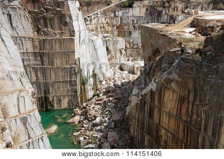 Marble quarry in Estremoz
