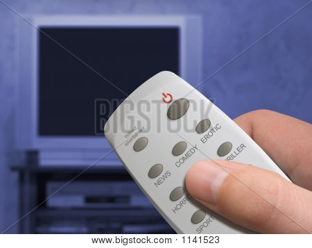 Remote Control In Hand, Buttons News, Comedy, Erotic, Etc., Butt