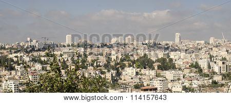 Modern Jerusalem Panorama Photo