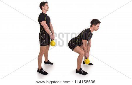 Kettlebell, Deadlift, Exercise