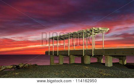 Napier Viewing Platform Sunrise