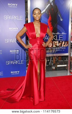 Tika Sumpter at the Los Angeles premiere of