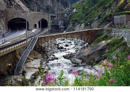 Tunel And Railway