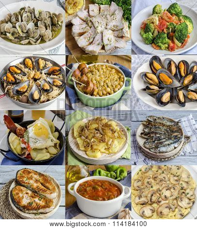 Variety Of Homemade Dishes