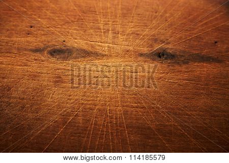 Old wooden background. Cutting board