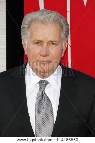 LOS ANGELES, CALIFORNIA - June 28, 2012. Martin Sheen at the Los Angeles premiere of