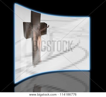 Woman  Crucified