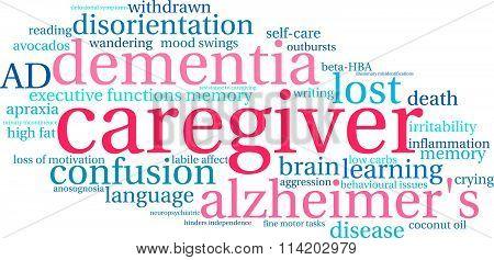 Caregiver Word Cloud