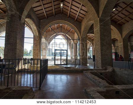 Inside The Old Arsenal In Pisa