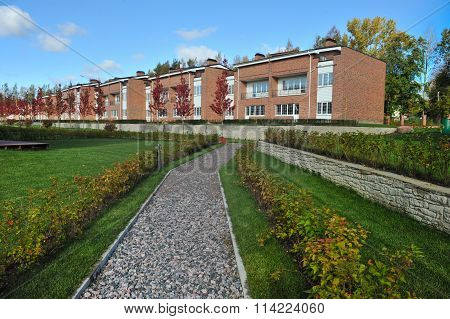 Country-storey residential block  brick houses