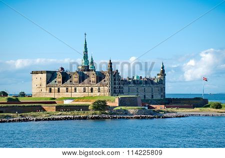 Castle Of Kronborg, Home Of Shakespeare's Hamlet