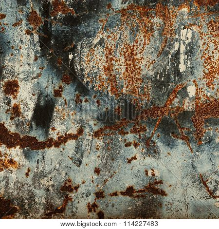 ..abstract Rust Surface Background. Grungy Background With Space For Text Or Image.