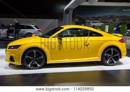 2016 Audi Tt S Coupe