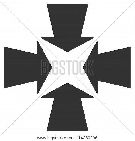 Shrink Arrows Icon