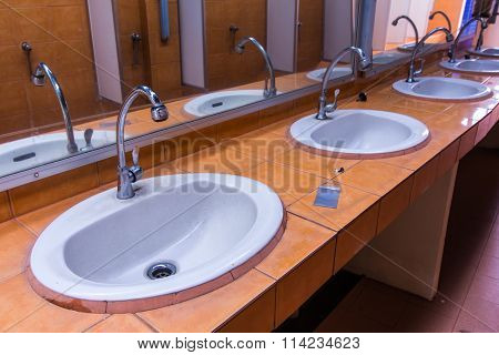 Basin In Toilet