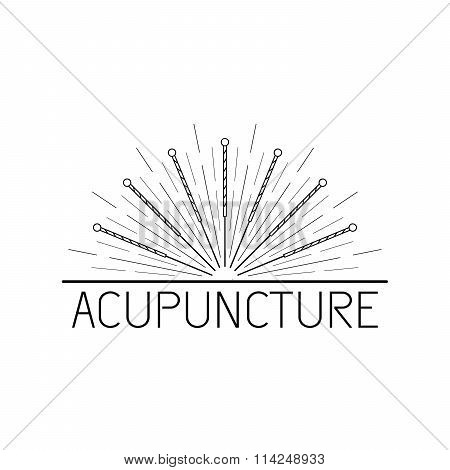 Vector Elements For Acupuncture And Massage, Tcm 07