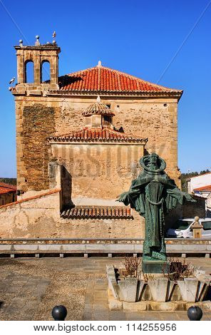 San Pedro de Alcantara statue