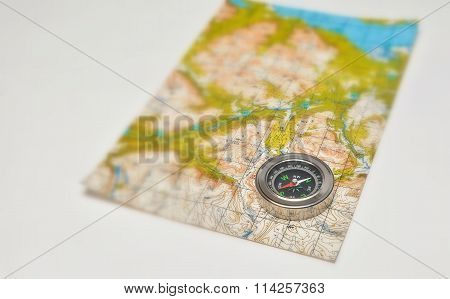 Compass And Map.