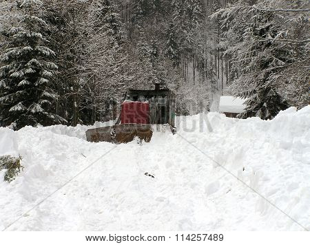 Bulldozers And Winter