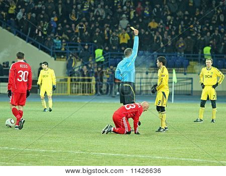 Metalist - Debreceni Uefa Football Match