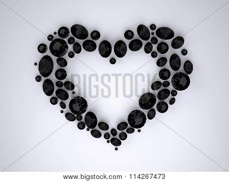Heart of Black Diamonds