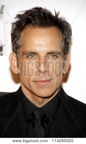 Ben Stiller at the 26th American Cinematheque Award Honoring Ben Stiller held at the Beverly Hilton Hotel in Los Angeles, California, United States on November 15, 2012.