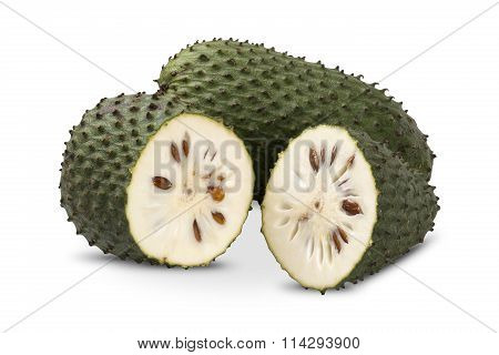 Sour Sop, Prickly Custard Apple.