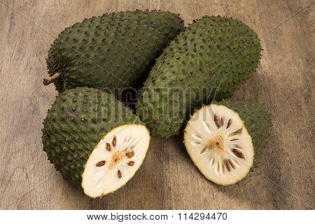 Sour Sop, Prickly Custard Apple.
