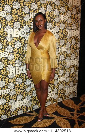 LOS ANGELES - JAN 10:  Tika Sumpter at the HBO Golden Globes After Party 2016 at the Beverly Hilton on January 10, 2016 in Beverly Hills, CA