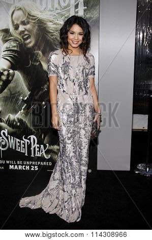 HOLLYWOOD, CALIFORNIA - March 23, 2011. Vanessa Hudgens at the Los Angeles premiere of