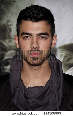 HOLLYWOOD, CALIFORNIA - March 23, 2011. Joe Jonas at the Los Angeles premiere of