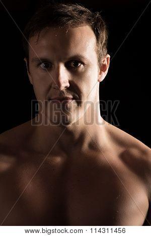 Caucasian Male Fighter
