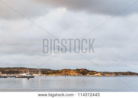 Swedish West Coast Landscape South of Gothenburg