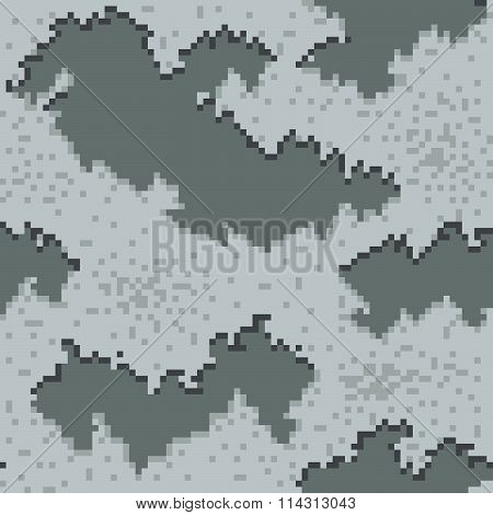 Military Camouflage Textile Pattern