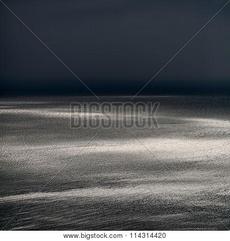 Spectacular Seascape In Dusk