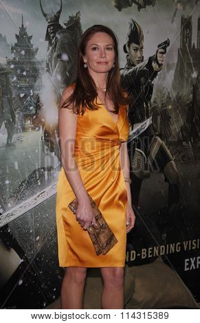 Diane Lane at the Los Angeles Premiere of