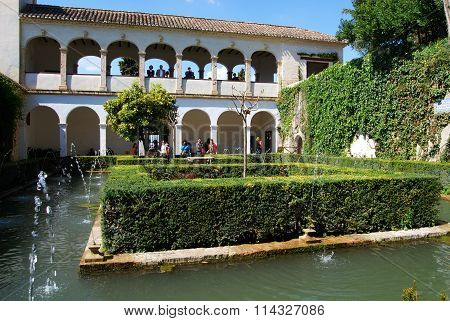 Court of the Sultana, Alhambra Palace.