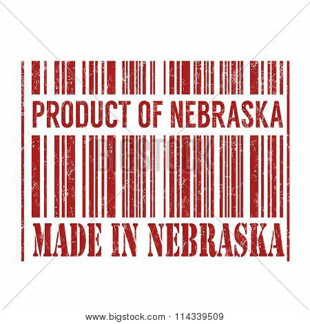Product Of Nebraska, Made In Nebraska Barcode