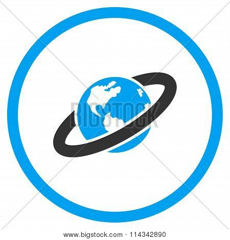 Ringed Planet Icon