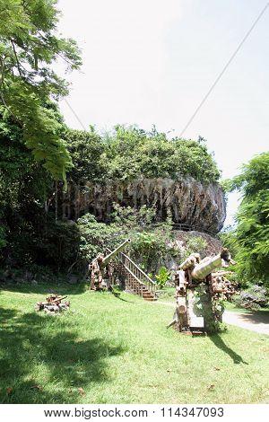Last command post in Saipan North Mariana Islands