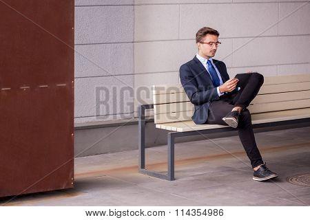 Passenger Waiting For Train