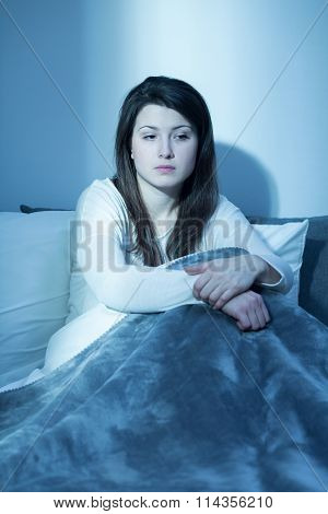 Woman And Sleeping Problem