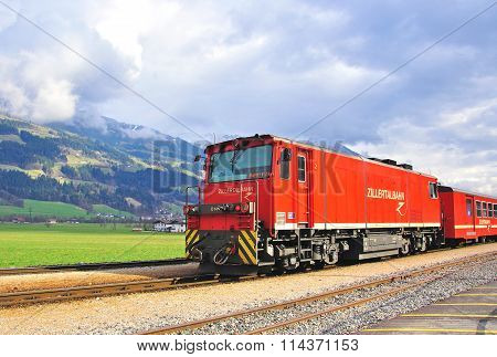 The Zillertal Railway Or Zillertalbahn