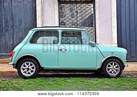 Old Fashioned Mini Cooper