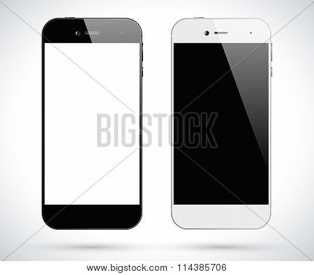 Black White Smartphones