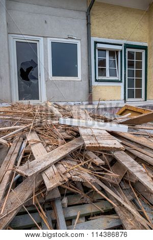 terraced houses to be renovated