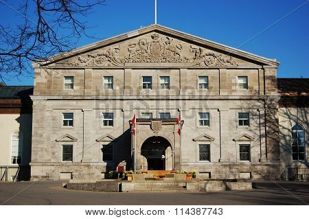 Rideau Hall is the official residence in Ottawa