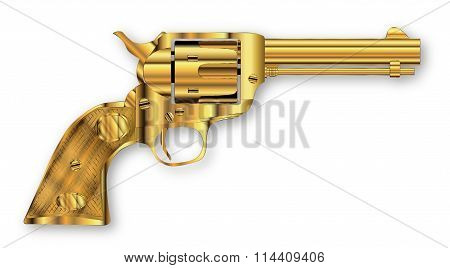 Golden Six Gun