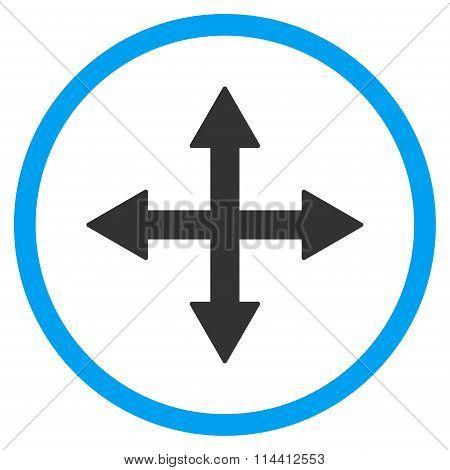 Quadro Arrows Icon