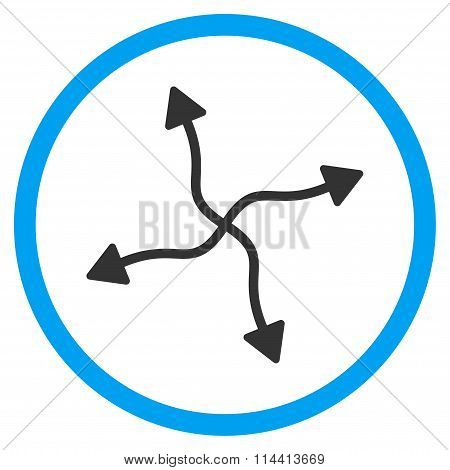 Curve Arrows Icon